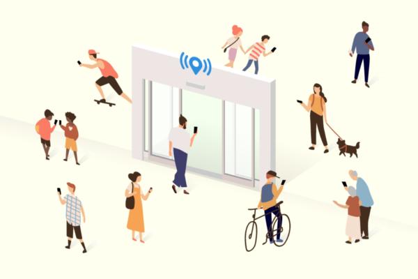 スイッチスマイルとオプテックス、自動ドアセンサー+ビーコンで小売り流通のDX化支援で業務提携。エントランスメディア『OMNICITY』をサブスクモデルで提供開始!